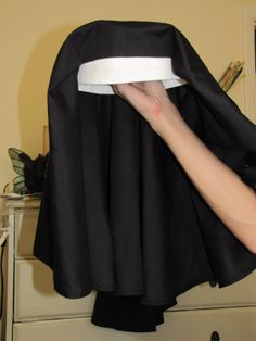 phots of nun costumes | On with more cold weather sewing