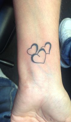 Heart Tattoo for my three babies!