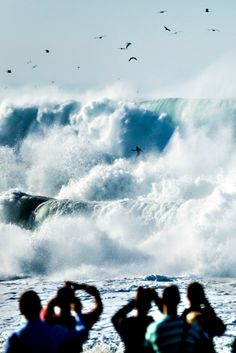 Sound and fury at The Wedge. Photo: Olson
