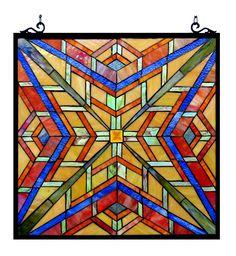 Handcrafted Window Panel