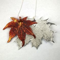 Real Maple Leaves Necklace