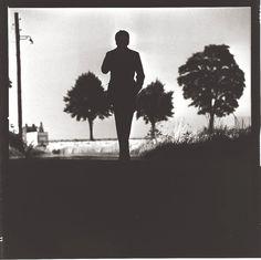 Gerhard Richter (nocturnal silhouette) br / gelatin silver on fiber based paper, estate stamp Estate Lothar Wolleh, signed, titled verso numbered by the estate