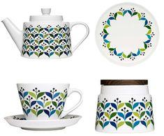 Sagaform. Tea and table set.
