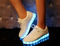"Fashion colorful led luminous rechargeable sneakers.Use this coupon code ""playbanovici"" to get all 10% off!"