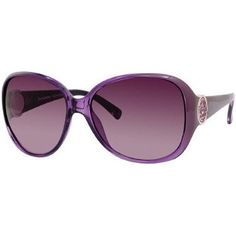 Juicy Couture Dame/S Women's Sports Wear Sunglasses – Purple Crystal/Burgundy Gradient / One Size Fits All