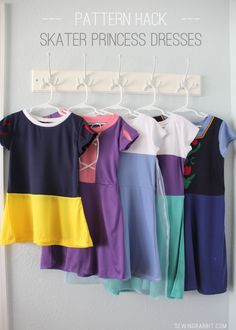 Comfortable princess dresses! You can make these!