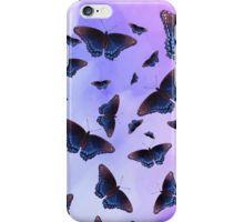 'Blue Wing Butterflies Evening Purple Haze' iPhone Case by futureimaging Blue Wings, Purple Haze, Phone Covers, Butterflies, Phones, Iphone Cases, Apple, Future, Stuff To Buy