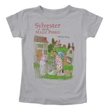 sylvester and the magic pebble- so many cool literary t shirts, lots of children book themed ones