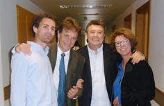 Ridere insieme a Massimo Wertmuller, Paola Tiziana Cruciani, Rodolfo Laganà.Roma vi vuole bene.