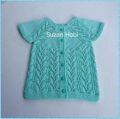 Baby Knitting, Crochet Baby, Vestidos Bebe Crochet, Bebe Baby, Knit Vest, Diy And Crafts, Youtube, Sweaters, Clothes