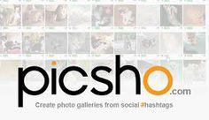 Picsho. Recherche et curation d'images sur les réseaux sociaux