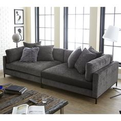 The 5 Minute Rule For Living Room Design Furniture Sofa Set 125 - fancyhomedecors Sofa Couch, Comfy Sofa, Comfortable Sofa, Big Couch, Comfortable Living Rooms, Sofa Set, Extra Deep Sofa, Deep Couch, Sofa Design