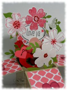 Just Sayin' Card in a Box by serenestamper - Cards and Paper Crafts at Splitcoaststampers