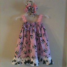 Pink Cow Sundress!!