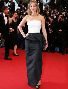 Jennifer Lawrence by Dior