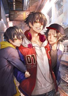 What brothers united lol Fanarts Anime, Anime Characters, Manga Anime, Anime Art, Cool Anime Guys, Cute Anime Boy, Mc Lb, Japonese Girl, Character Inspiration