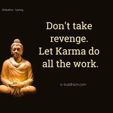 100 Inspirational Buddha Quotes And Sayings That Will Enlighten You - Page 3 of 10 Don't take revenge. Let karma do all the work. Buddhist Quotes, Spiritual Quotes, Wisdom Quotes, True Quotes, Great Quotes, Positive Quotes, Karma Quotes Truths, Spiritual Awakening, Qoutes