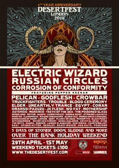 DESERTFEST LONDON: lineup complete with Russian Circles headlining the Saturday!WithGuitars