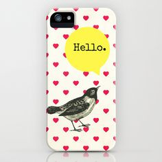 Hello iPhone & iPod Case by Sreetama Ray - $35.00