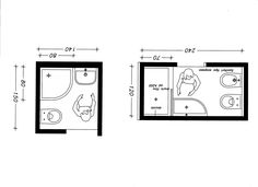A shower, sink, toilet and shelving would work with the right image. Small Bathroom Plans, Bathroom Layout Plans, Small Bathroom Layout, Bathroom Design Layout, Bathroom Floor Plans, Tiny Bathrooms, Nautical Bathrooms, Tiny House Bathroom, Downstairs Bathroom