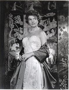 Vintage Postcard photo First Lady JACQUELINE by AlmaFlorida, $4.99