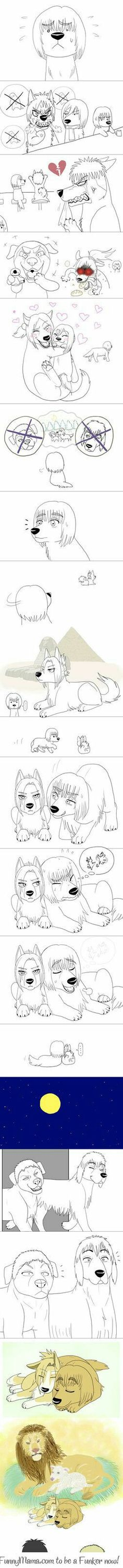Annie x Armin---Still unsure where I stand with this pairing, but this is too cute not to post and it shows a lot of my other ships, so why not? The lion and the lamb, folks.