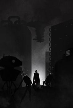 Darth Vader Noir - Created by Gabriel Ochoa