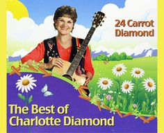 """24 Carrot Diamond - The Best of Charlotte Diamond"" is a celebration of 24 of Charlotte's best-known songs, recorded over the past 25 years. A ""must have"" CD for children and families.  Songs include:  I am a Pizza, La Bamba, Hug Bug, The Laundry, Dicky Dinosaur, Octopus, Four Hugs a Day, Dracula, Leave the World a Little Better and more! ""#Singing is a wonderful way to express who we are"". - Charlotte Award-winning #Music for #Kids, #Families & #Teachers - Lyrics Included"