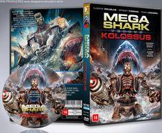 Mega Shark Vs. Kolossus - Capa - ➨ Vitrine - Galeria De Capas - MundoNet | Capas & Labels Customizados