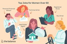 Professions that are ideal for women over 50, education and training requirements, and salary and job outlook for some of the best jobs for women over 50. Jobs For Over 50, Technical Writer, Career Exploration, Jobs For Women, Bus Driver, Education And Training, Online Work, Job Search, Good Job