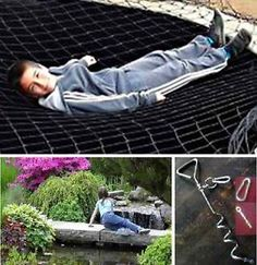 All sizes CHILD SAFETY POND NETTING superstrong rotproof FIXINGS ALSO AVAILABLE | eBay