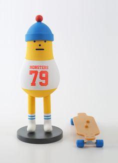 黏黏怪物研究所 – SML SERIES【S09】Sticky Monster Lab 白日夢長板少年