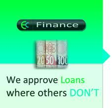 We do Approve Loans where others dont at www.ecfinance.co.za