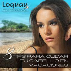 Tu #cabello también necesita cuidados en estas vacaciones. En especial si vas a la playa.