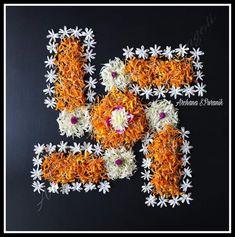 Rangoli Designs Latest, Rangoli Designs Flower, Rangoli Patterns, Rangoli Ideas, Rangoli Designs Diwali, Rangoli Designs With Dots, Flower Rangoli, Flower Designs, Diwali Rangoli