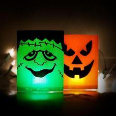 Halloween Spooky Light Up Lantern - Halloween Party Decorations - Halloween #poundlandhalloween
