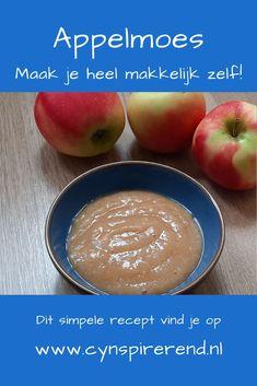 Heb je lekkere appels geoogst of gekocht? Maak er eens appelmoes mee! Zelf appelmoes maken is namelijk heel simpel. Het is een kwestie van 4 ingrediënten bij elkaar doen en dat lekker op smaak brengen. Vandaag deel ik mijn recept met je en vertel ik je hoe je jouw appelmoes 3 maanden kan bewaren! Cantaloupe, Fruit, Food, Essen, Meals, Yemek, Eten