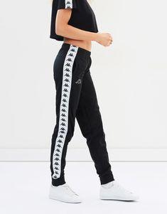 222 Banda Wrastoria Slim Pants by Kappa Online Teen Fashion Tumblr, Teen Fashion Outfits, Fashion Pants, Fashion Edgy, Fashion Trends, Cute Pants, Cute Leggings, Sporty Outfits, Cute Outfits