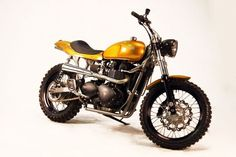 RESERVOIR CROSS VINTAGE TRIUMPH BONNEVILLE SCRAMBLER - FIRSTRACER