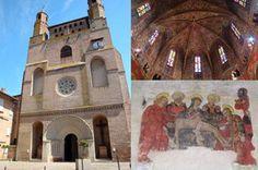 Rabastens Tarn Classée au Patrimoine Mondial de L'UNESCO (monument remarquable sur les chemins de St Jacques), joyau du style gothique méridional, l'église Notre-Dame du Bourg impressionne par la franchise des couleurs du chœur et par ses peintures murales (XIIIe au XVe siècle) redécouvertes au XIVe siècle.