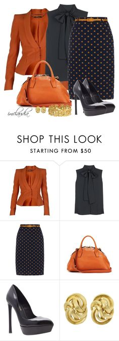 """Style That Skirt"" by imclaudia-1 ❤ liked on Polyvore featuring Alexander McQueen, Victoria Beckham, Yumi, Miu Miu, Kurt Geiger, Tiffany & Co. and John Iversen"