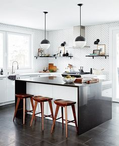 Get inspiration for your next kitchen renovation with these standout kitchen design ideas, from modern kitchens to country kitchens and more.