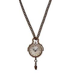 Ruff Hewn Watch Pendant Necklace