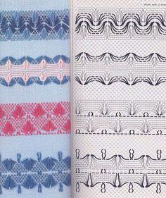 Knitting Patterns Free, Free Pattern, Embroidery Patterns, Hand Embroidery, Huck Towels, Swedish Weaving Patterns, Swedish Embroidery, Monks Cloth, Bargello