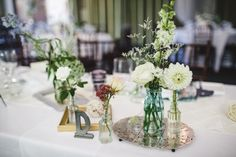 Eclectic centerpieces Wedding Decorations, Wedding Ideas, Table Decorations, Centerpieces, Home Decor, Center Pieces, Wedding Decor, Interior Design, Table Centerpieces