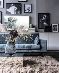 ideas for a perfect living room - Interior Goals - Vase ideen Room Interior, House Interior, Living Room Grey, Trendy Living Rooms, Living Decor, Living Room Inspiration, Home And Living, Living Room Paint, Home Living Room