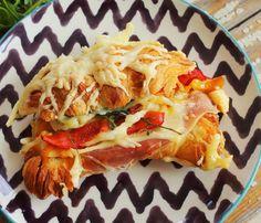 Serpenyős sült croissant-szendvics • Fördős Zé Magazin
