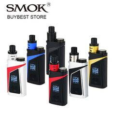 100% Original SMOK SKYHOOK RDTA BOX Vape Kit All in one Style with 9ml Bulit-in Tank Atomizer & 220W Skyhooh BOX MOD E-cigs Kit //Price: $US $41.50 & FREE Shipping //