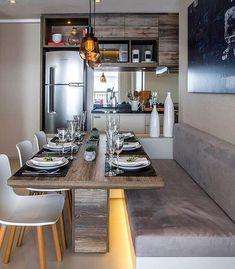 Voltando para os espaços inspiradores.  Espaços integrados by Claudia Albertini. Amei Me encontre também no @pontodecor {HI} Snap:  hi.homeidea  http://ift.tt/23aANCi #bloghomeidea #olioliteam #arquitetura #ambiente #archdecor #archdesign #hi #cozinha #homestyle #home #homedecor #pontodecor #homedesign #photooftheday #love #interiordesign #interiores  #picoftheday #decoration #world  #lovedecor #architecture #archlovers #inspiration #project #regram #outubrorosa #canalolioli