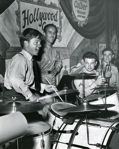 Mickey Rooney at the Hollywood Canteen.